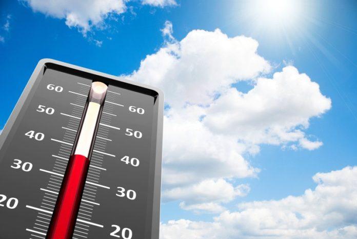 vysoká teplota