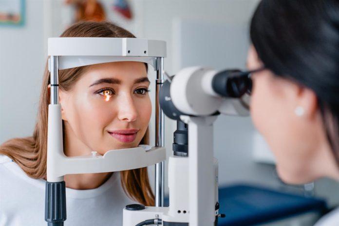 vyšetření oči